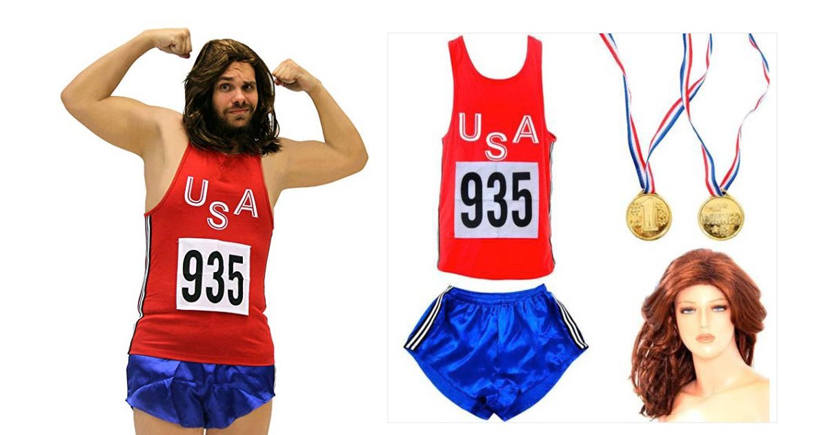 Bruce Jenner fancy dress slammed for 'laughing at people born in wrong body'