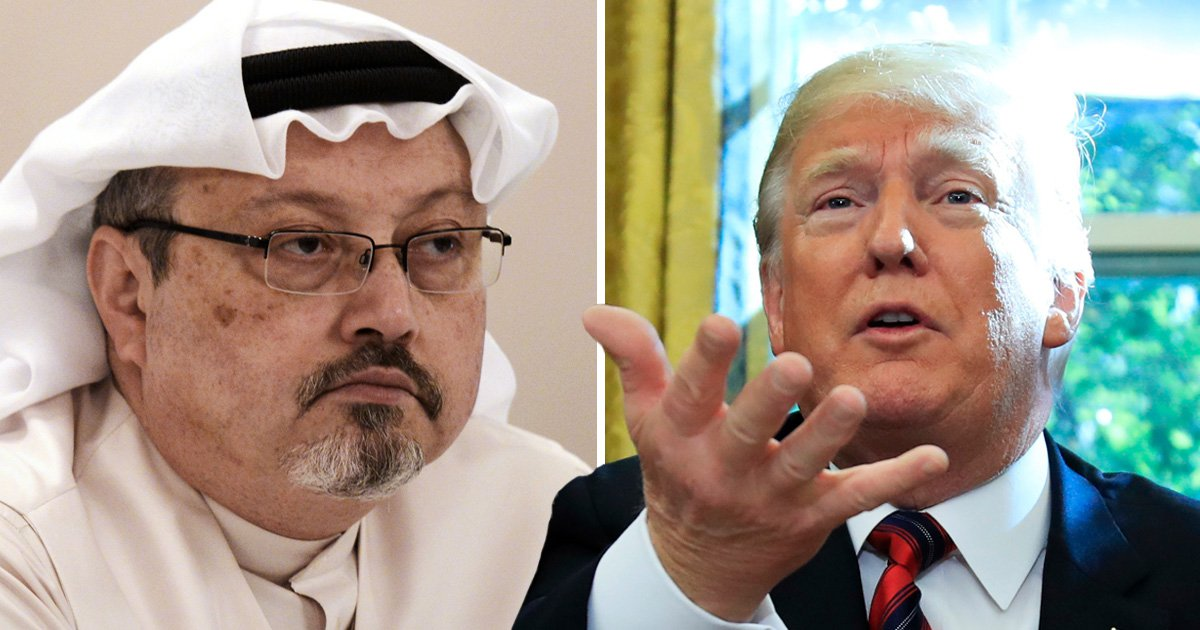 Trump calls Khashoggi's murder one of the 'worst cover-ups in the history of cover-ups'
