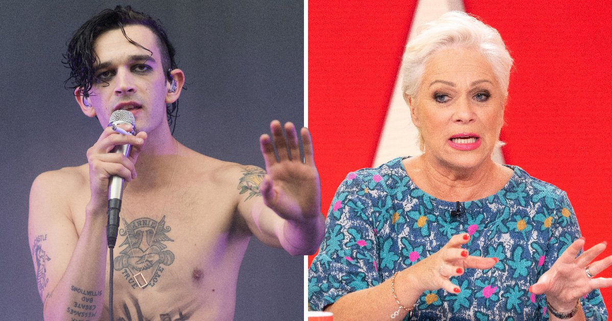 Denise Welch is 'proud' of son Matt Healy after he apologised to her following battle with heroin addiction