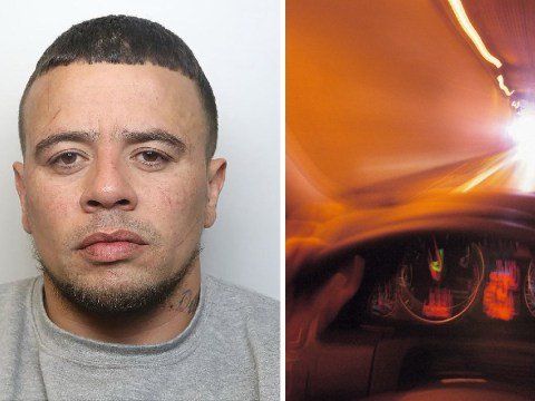 Man high on cocaine did 123mph in 30mph zone trying to escape police