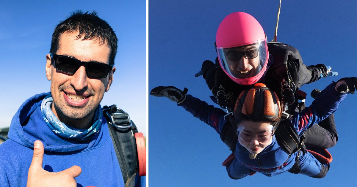 Boy asks 'if I wish hard enough will he come back?' after dad died while skydiving
