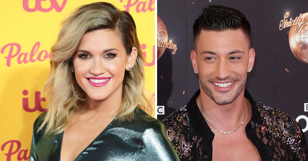Ashley Roberts and Giovanni Pernice 'full on snogging' at the Strictly Come Dancing wrap party