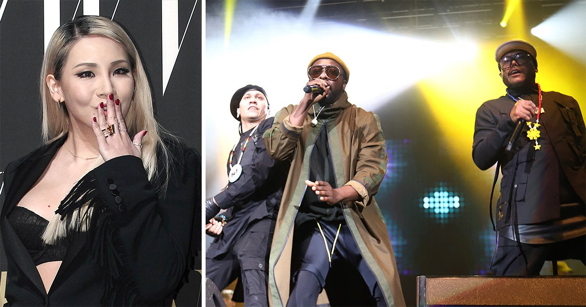 Black Eyed Peas break into K-pop as they drop single with CL