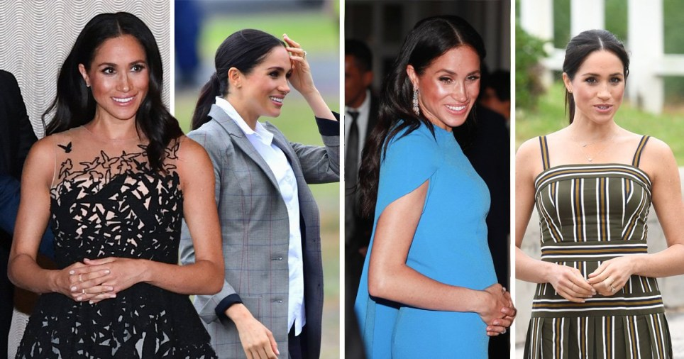 e8640adc0b Every single outfit Meghan Markle has worn during two-week Australian royal  tour with Prince Harry
