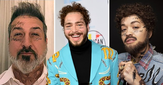 Joey Fatone And Rita Ora Both Dress Up As Post Malone For