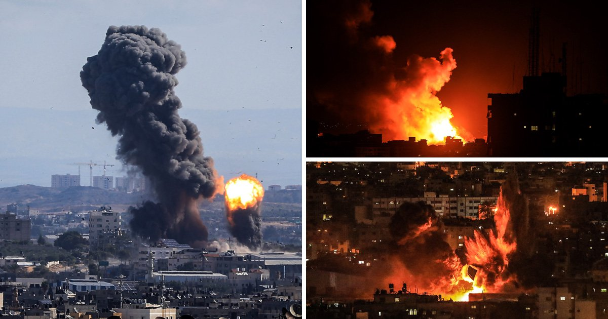 Israel bombs several targets in Gaza in response to rocket fire