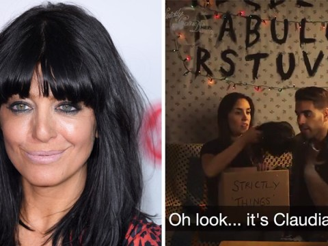 Strictly Come Dancing stars left 'frightened by Claudia Winkleman's fringe' ahead of Halloween special