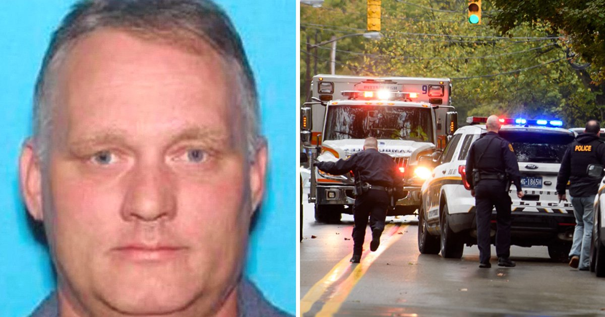 Pictured: Pittsburgh gunman, 46, who opened fire in synagogue killing 11