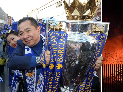 Leicester City owner 'was on board helicopter when it crashed'