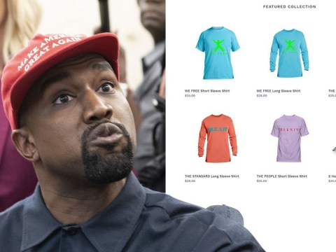 Kanye West designs 'Blexit' shirts urging black people to leave the Democratic Party