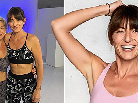 Davina McCall confesses she didn't always like working out