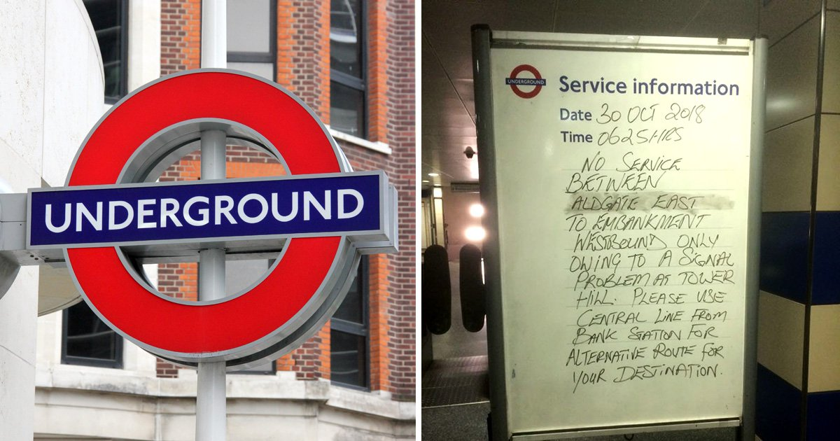 Commuter chaos as Circle, District, Jubilee and London Overground are hit by delays
