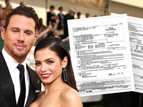 Jenna Dewan's divorce papers revealed amid rumours Channing Tatum is dating Jessie J