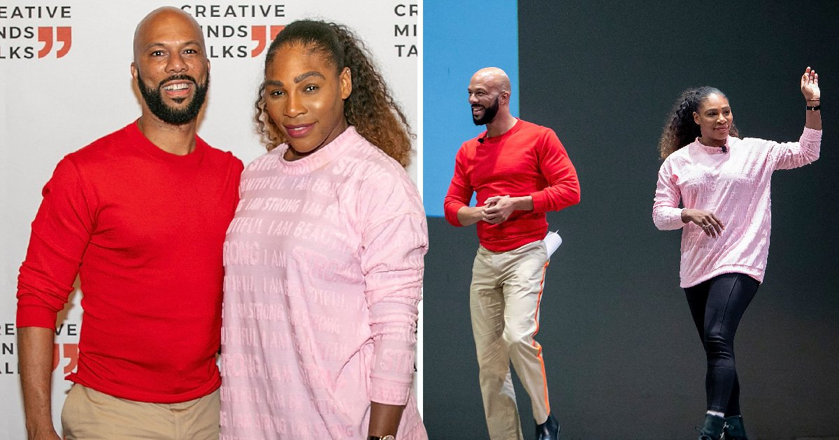 Serena Williams proves you can be friends with exes as she reunites with Common at charity event