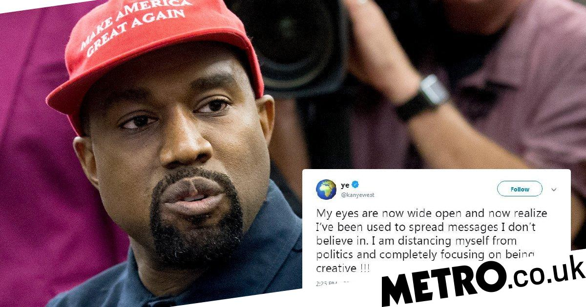 57b24e19c3fd3 Kanye West admits he s  been used  as he distances himself from Donald Trump