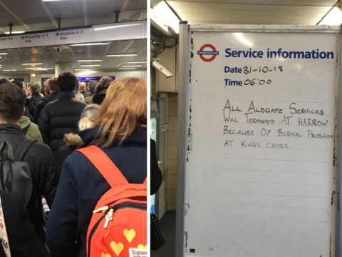 Commuter chaos for second day as Circle, District, Metropolitan and Hammersmith & City are hit by delays