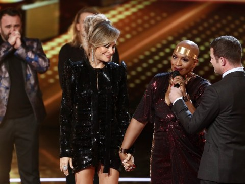 Who left The X Factor last night in the second double elimination?