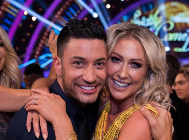 EMBARGOED TO 2100 SATURDAY SEPTEMBER 8 For use in UK, Ireland or Benelux countries only Undated BBC handout photo of Giovanni Pernice and Faye Tozer during the return of the BBC One show, Strictly Come Dancing. PRESS ASSOCIATION Photo. Issue date: Saturday September 8, 2018. See PA story SHOWBIZ Strictly. Photo credit should read: BBC/PA Wire NOTE TO EDITORS: Not for use more than 21 days after issue. You may use this picture without charge only for the purpose of publicising or reporting on current BBC programming, personnel or other BBC output or activity within 21 days of issue. Any use after that time MUST be cleared through BBC Picture Publicity. Please credit the image to the BBC and any named photographer or independent programme maker, as described in the caption.