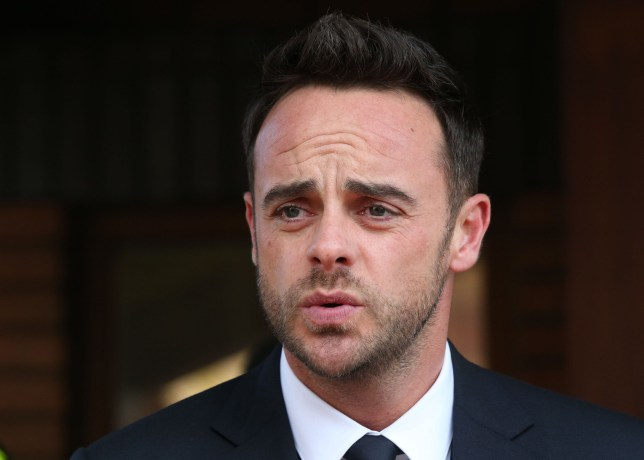 File photo dated 16/04/18 of Ant McPartlin outside Wimbledon Magistrates' Court after being fined for driving while more than twice the legal alcohol limit. The TV star has confirmed he has been sober for six months after a public battle with alcohol. PRESS ASSOCIATION Photo. Issue date: Saturday September 22, 2018. See PA story SHOWBIZ McPartlin. Photo credit should read: Jonathan Brady/PA Wire