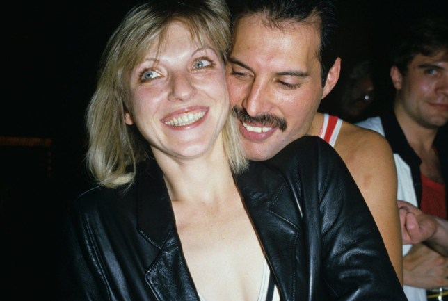 Exclusive - Premium Rates Apply Mandatory Credit: Photo by Richard Young/REX/Shutterstock (110887c) FREDDIE MERCURY AND MARY AUSTIN Freddie Mercury 38th Birthday Party at Xenon Nightclub London, Britain - 1984