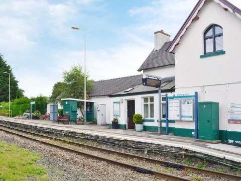You can now rent a former station master's house for £9 a night