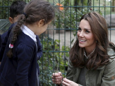 Kate Middleton's cute response when little girl asks why people are taking her photo