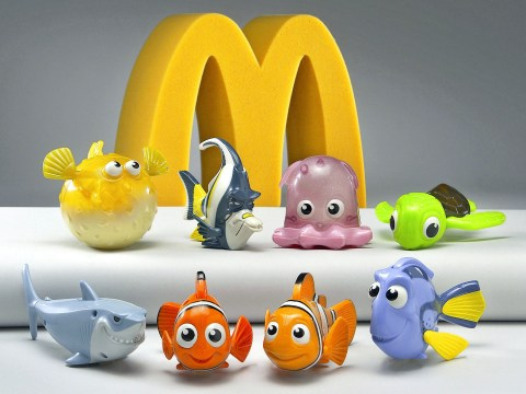 McDonald's responds to urges to stop giving away plastic toys in Happy Meals