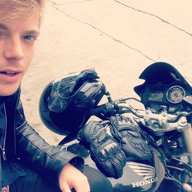 David jones-roberts motorbike instagram pictures
