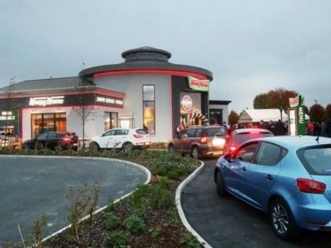 Krispy Kreme closes 24 hour drive-thru after huge line of beeping cars kept locals awake