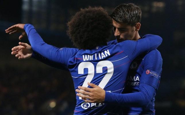 Maurizio Sarri sends message to Alvaro Morata after his emotional goal celebration for Chelsea