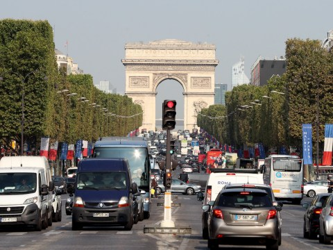 Paris bans cars on first Sunday of every month