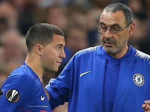 Eden Hazard reveals Maurizio Sarri has changed training times from Antonio Conte's reign