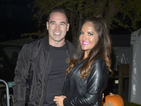 Kieran Hayler all smiles on date night with girlfriend Michelle Pentecost after denying engagement