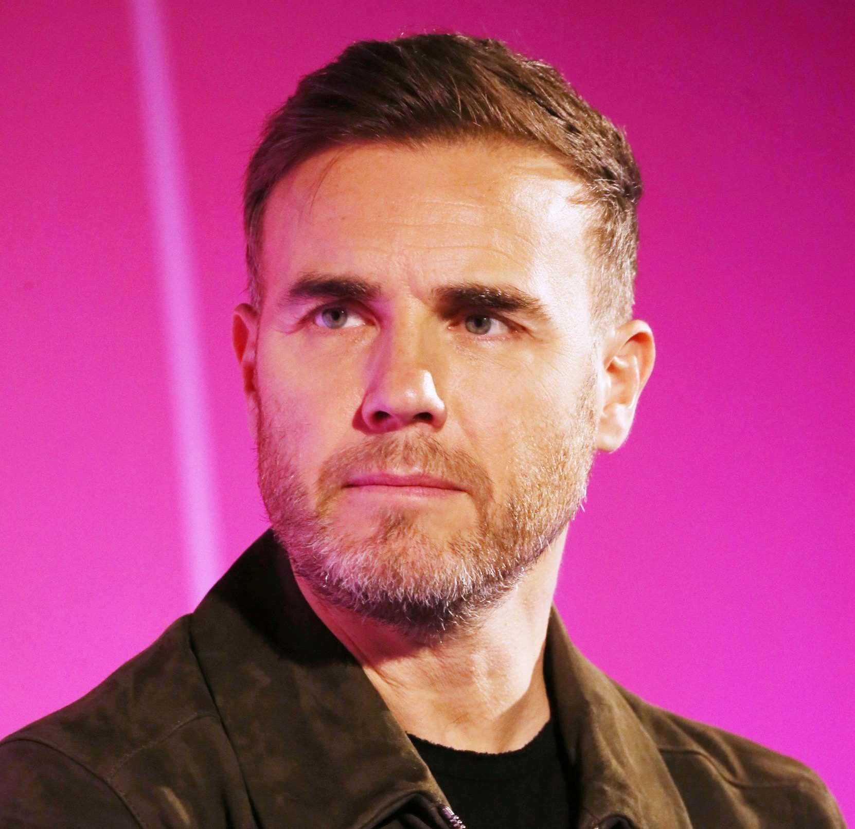 Mandatory Credit: Photo by REX/Shutterstock (8549839o) Gary Barlow (Singer-Songwriter and Record Producer, Take That) Nicola Mendelsohn In Conversation With Gary Barlow seminar, Advertising Week Europe 2017, Fast Company Stage, Picturehouse Central, London, UK - 22 Mar 2017