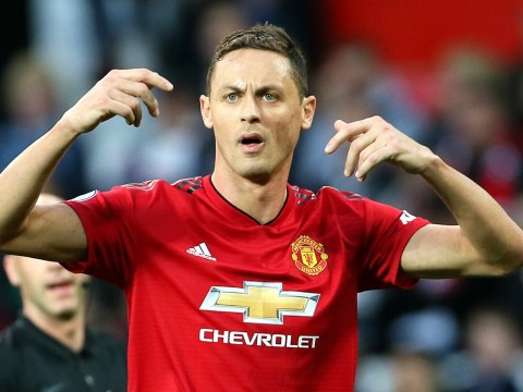 Manchester United midfielder Nemanja Matic set to miss international break with back injury
