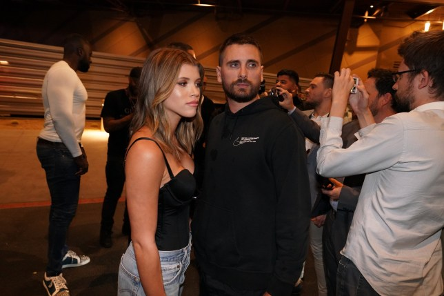 EXCLUSIVE: TV personality, Scott Disick and model, Sofia Richie seen leaving Connor Mcgregor fight in Las Vegas, Nevada. Pictured: Ref: SPL5031247 071018 EXCLUSIVE Picture by: Shotbyjuliann / SplashNews.com Splash News and Pictures Los Angeles: 310-821-2666 New York: 212-619-2666 London: 0207 644 7656 Milan: +39 02 4399 8577 Sydney: +61 02 9240 7700 photodesk@splashnews.com World Rights