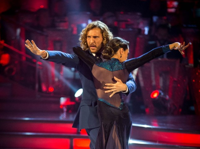 Programme Name: Strictly Come Dancing 2018 - TX: 22/09/2018 - Episode: n/a (No. 2) - Picture Shows: Katya Jones, Seann Walsh - (C) BBC - Photographer: Guy Levy