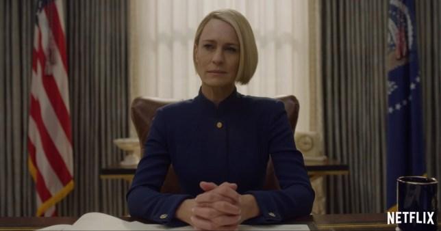 House of Cards Season 6 Trailer Credit: Netflix