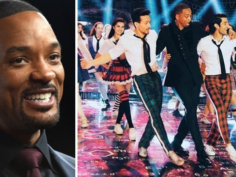 Will Smith gets jiggy with it on Bollywood set
