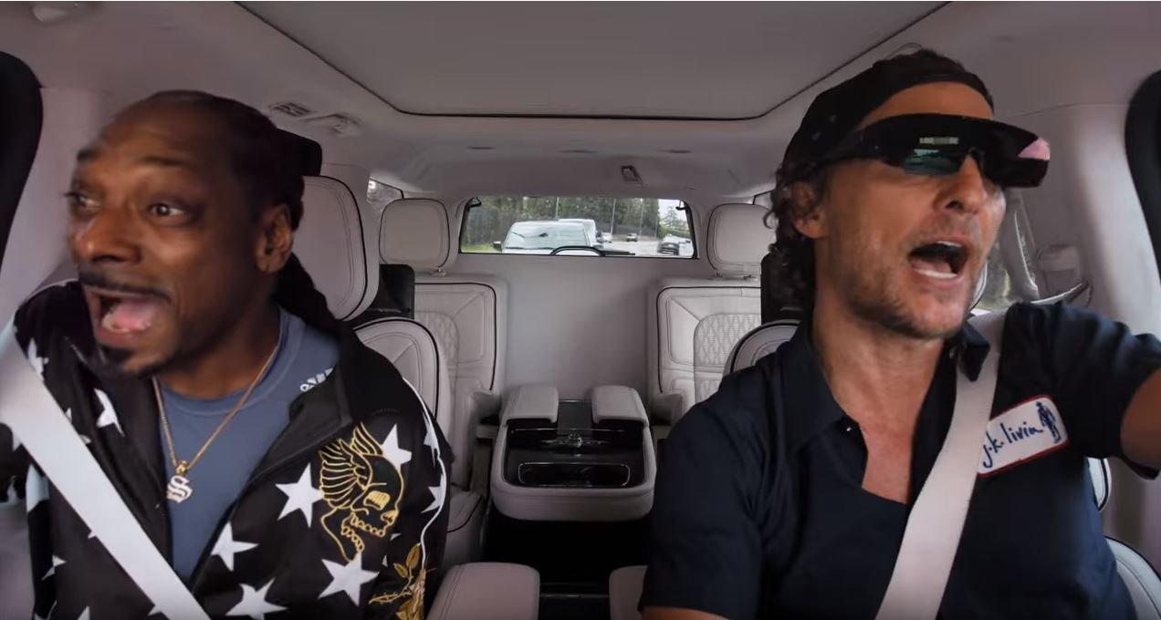 Matthew McConaughey and Snoop Dogg are the greatest Carpool Karaoke pairing yet