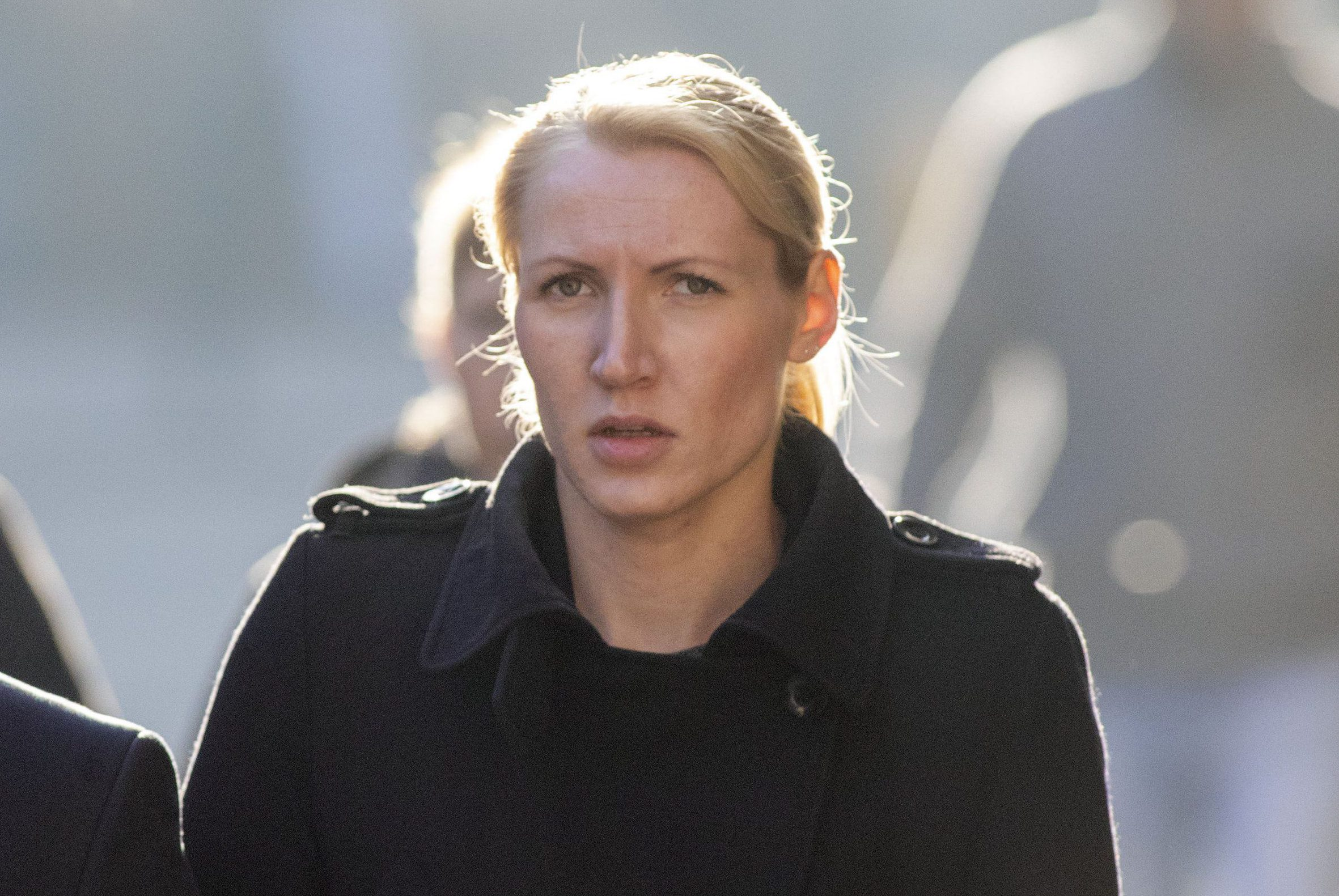 Eleanor Wilson arrives at Bristol Crown Court where she is on trial accused of having drink-fuelled sexual intercourse with the teenager on a British Airways flight home from an overseas camping trip in August 2015. PRESS ASSOCIATION Photo. Issue date: Wednesday October 10, 2018. See PA story COURTS Teacher. Photo credit should read: Steve Parsons/PA Wire