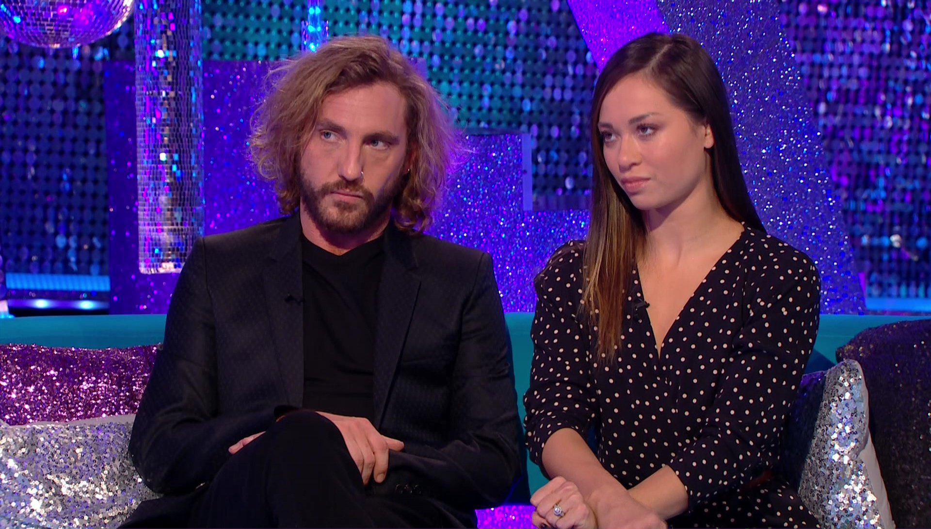 Seann Walsh and Katya Jones runaway favourites to leave Strictly Come Dancing this weekend