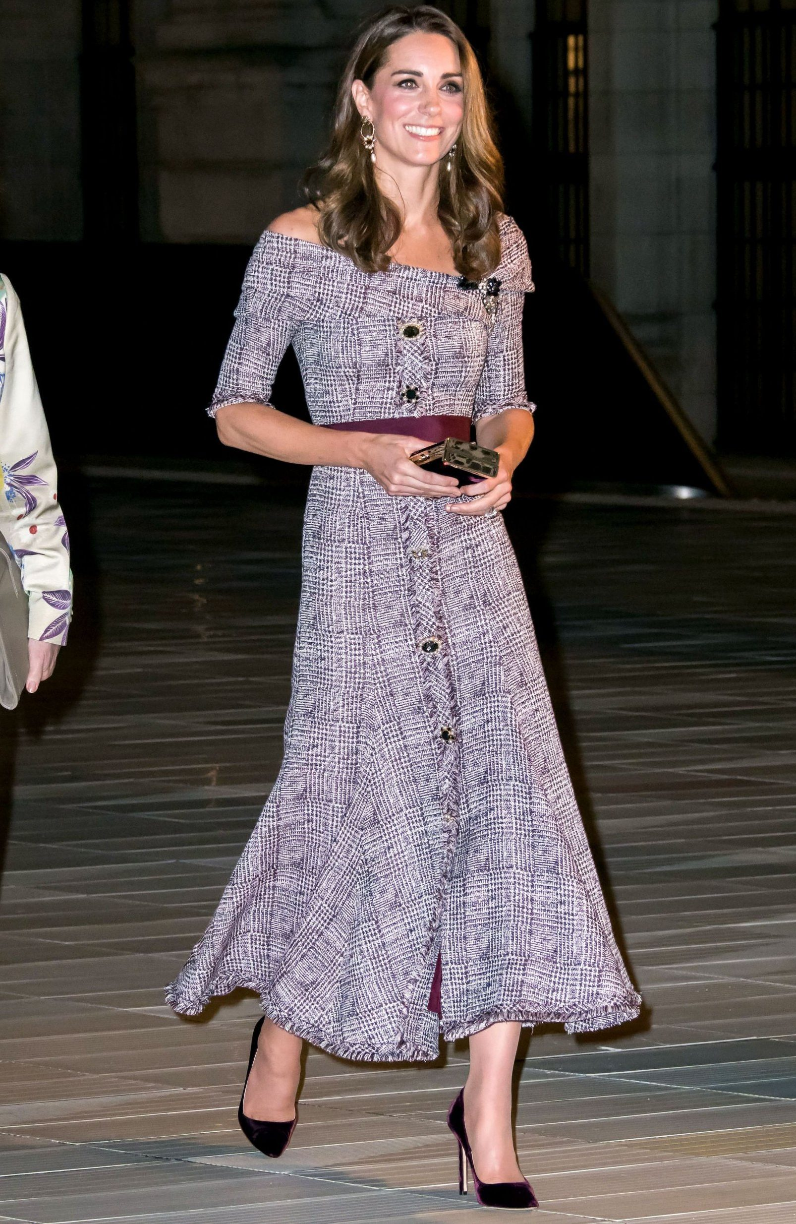 Kate Middleton stuns in Erdem on first visit to V&A museum as patron