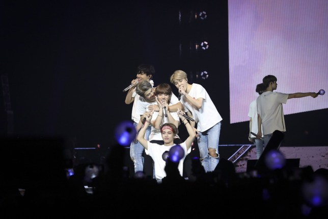 BTS honoured by the O2