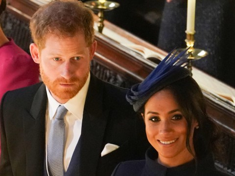 No, Prince Harry and Meghan Markle didn't have an argument at Eugenie's wedding
