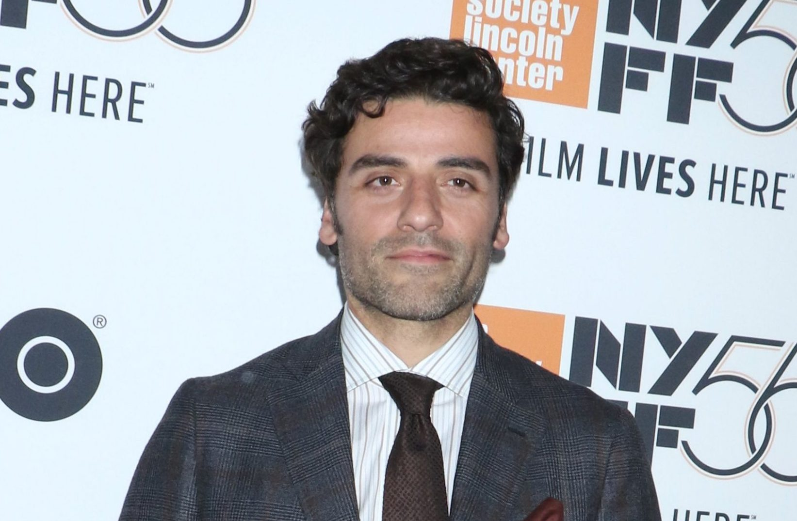 Mandatory Credit: Photo by Gregory Pace/REX (9930323x) Oscar Isaac 'Eternity's Gate' premiere, New York Film Festival, USA - 12 Oct 2018