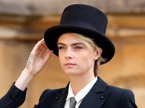 Cara Delevingne asked Princess Eugenie's permission to wear a top hat and tails to the Royal Wedding