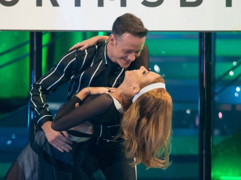 Stacey Dooley and Kevin Clifton get trapped in studio after late night Strictly sessions