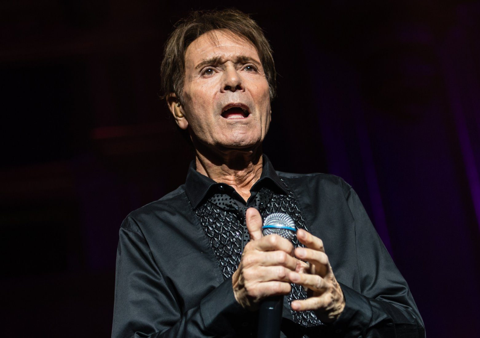 Mandatory Credit: Photo by Richard Isaac/REX (9931312e) Sir Cliff Richard - 58-18=60 Tour celebrating 60 year anniversary in the music business Sir Cliff Richard in concert at the Royal Albert Hall in London, UK - 14 Oct 2018