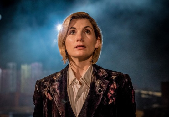 Television programme, 'Dr Who', TX BBC1 WARNING: Embargoed for publication until 00:00:01 on 07/10/2018 - Programme Name: Doctor Who Series 11 - TX: n/a - Episode: n/a (No. 1) - Picture Shows: **STRICTLY EMBARGOED UNTIL 07/10/2018 00:00:01** The Doctor (JODIE WHITTAKER) - (C) BBC / BBC Studios - Photographer: Ben Blackall